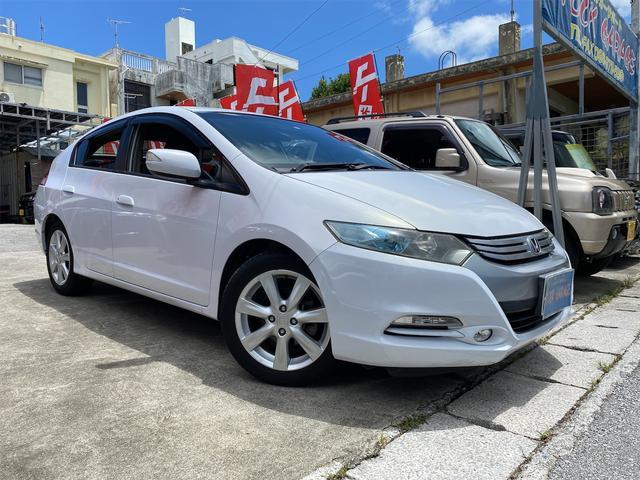沖縄県うるま市の中古車ならインサイト LS 16インチアルミ・フォグランプ・純正HDDナビDVDワンセグ・バックカメラ・ETC・アイドリングストップ・キーレス・ステアリングスイッチ・HID