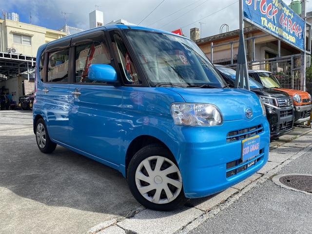沖縄の中古車 ダイハツ タント 車両価格 39万円 リ済別 2012(平成24)年 10.0万km ライトブルーM