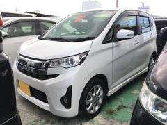 沖縄の中古車 三菱 eKカスタム 車両価格 ASK リ済込 平成25年 9.9万K パール
