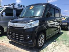 沖縄の中古車 スズキ スペーシアカスタム 車両価格 ASK リ済込 平成26年 12.7万K ブラック