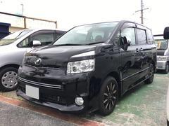 沖縄の中古車 トヨタ ヴォクシー 車両価格 82万円 リ済込 平成22年 10.5万K ブラック