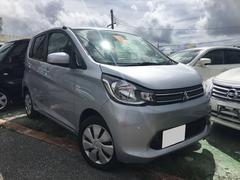 沖縄の中古車 三菱 eKワゴン 車両価格 45万円 リ済込 平成26年 7.8万K グレー