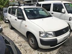 沖縄の中古車 トヨタ プロボックスバン 車両価格 49万円 リ済込 平成25年 8.5万K ホワイト