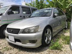 沖縄の中古車 トヨタ アルテッツァ 車両価格 37万円 リ済込 平成13年 17.7万K グレー
