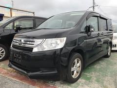 沖縄の中古車 ホンダ ステップワゴン 車両価格 ASK リ済込 平成22年 11.6万K ブラック