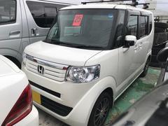 沖縄の中古車 ホンダ N BOX+ 車両価格 ASK リ済込 平成25年 12.0万K パール