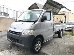 沖縄の中古車 トヨタ ライトエーストラック 車両価格 86万円 リ済込 平成22年 10.9万K グレー