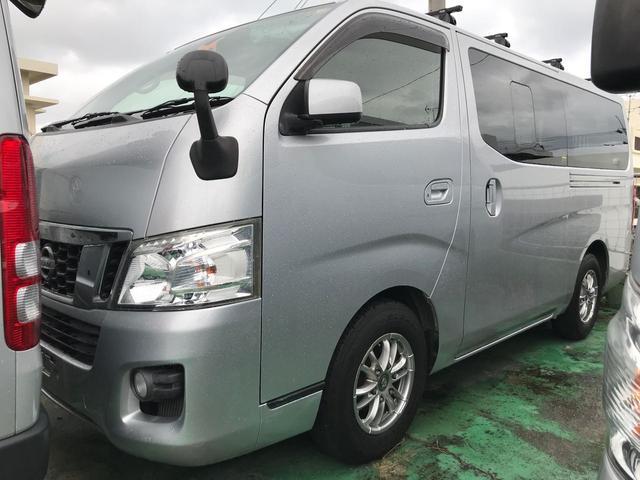 沖縄の中古車 日産 NV350キャラバンバン 車両価格 167万円 リ済込 平成26年 14.3万km グレー