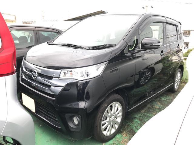 沖縄の中古車 日産 デイズ 車両価格 87万円 リ済込 平成26年 1.7万km ブラック