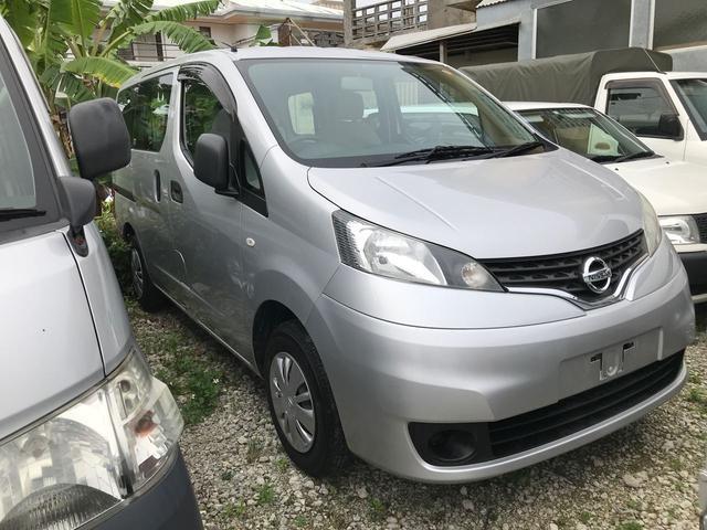 沖縄の中古車 日産 NV200バネットワゴン 車両価格 125万円 リ済込 平成24年 3.2万km グレー