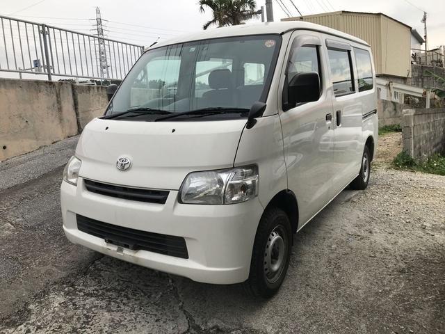 沖縄の中古車 トヨタ タウンエースバン 車両価格 ASK リ済込 平成25年 7.3万km ホワイト