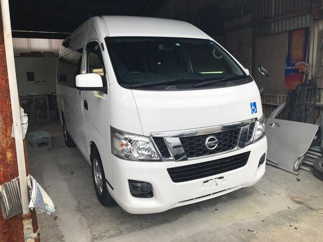 沖縄県の中古車ならNV350キャラバンバン 福祉車両 チェアキャブ ルーフサイドウインドウ