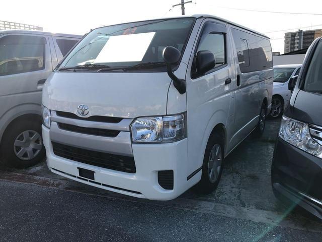 沖縄県宜野湾市の中古車ならレジアスエースバン ロングDX 9名乗り Wエアコン ETC ナビ TV
