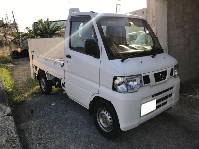 沖縄県の中古車ならNT100クリッパートラック 4WD 垂直パワーゲート エアコン