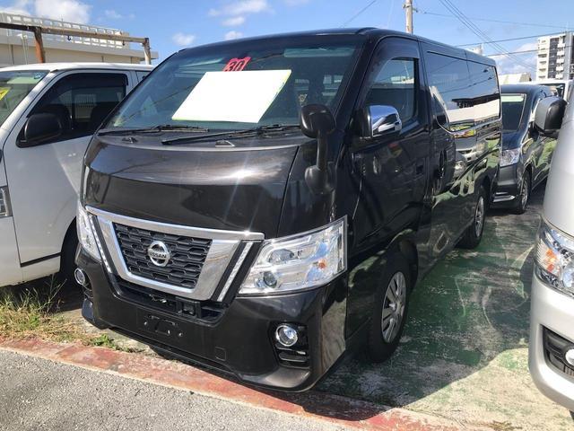 沖縄の中古車 日産 NV350キャラバンバン 車両価格 278万円 リ済込 2018(平成30)年 883km ブラック
