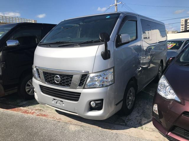 沖縄の中古車 日産 NV350キャラバンバン 車両価格 ASK リ済込 2014(平成26)年 13.5万km グレー