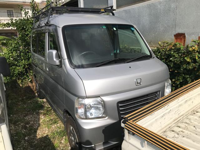 沖縄の中古車 ホンダ バモスホビオ 車両価格 37万円 リ済込 2011(平成23)年 10.2万km シルバー