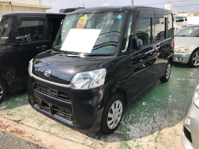 沖縄県の中古車ならタント X ブラックインテリア 純正8インチTVナビ バックモニター