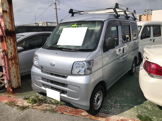 沖縄の中古車 ダイハツ ハイゼットカーゴ 車両価格 65万円 リ済込 2015(平成27)年 8.0万km グレー