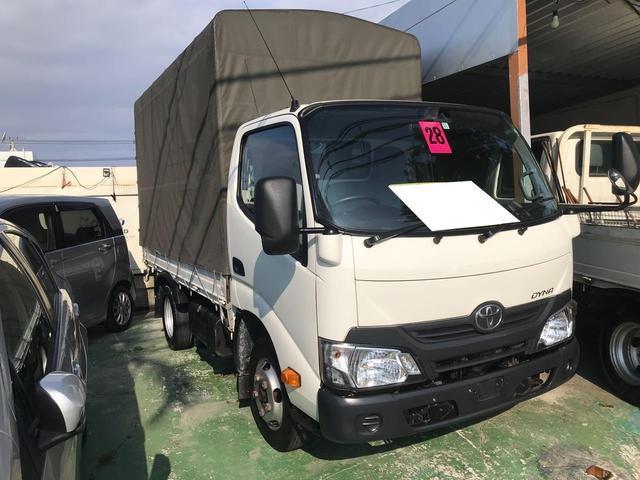 沖縄県の中古車ならダイナトラック 2トン車 幌付 セーフティーセンス 禁煙車 ETC