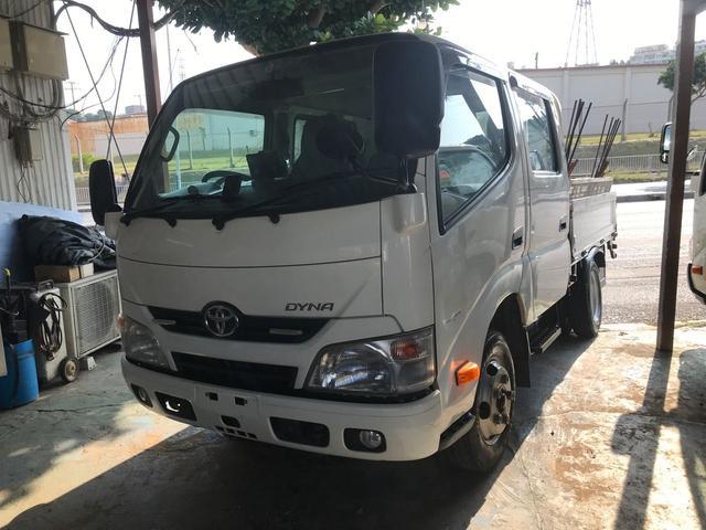 沖縄県の中古車ならダイナトラック 2トン車 Wキャブ セーフティーセンス ETC