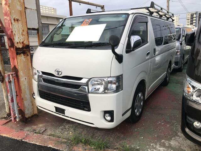 沖縄の中古車 トヨタ ハイエースバン 車両価格 ASK リ済込 2014(平成26)年 15.5万km ホワイト