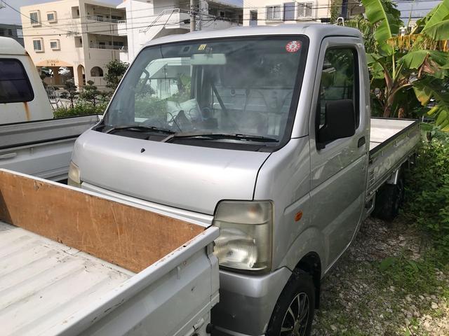 沖縄の中古車 スズキ キャリイトラック 車両価格 ASK リ済込 2007(平成19)年 8.6万km グレー