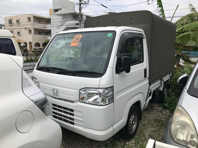 沖縄の中古車 ホンダ アクティトラック 車両価格 49万円 リ済込 2014(平成26)年 10.2万km ホワイト