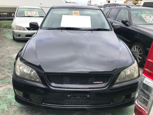 沖縄県の中古車ならアルテッツァ RS200 Zエディション キーレス 社外アルミ MT6速