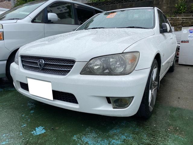 沖縄県の中古車ならアルテッツァ RS200 リミテッドII キーレス HID アルミ