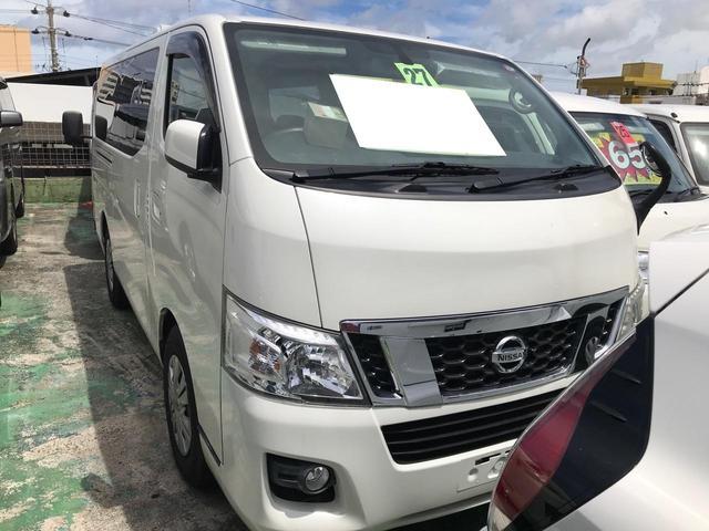沖縄の中古車 日産 NV350キャラバンバン 車両価格 149万円 リ済込 2015(平成27)年 16.4万km パール