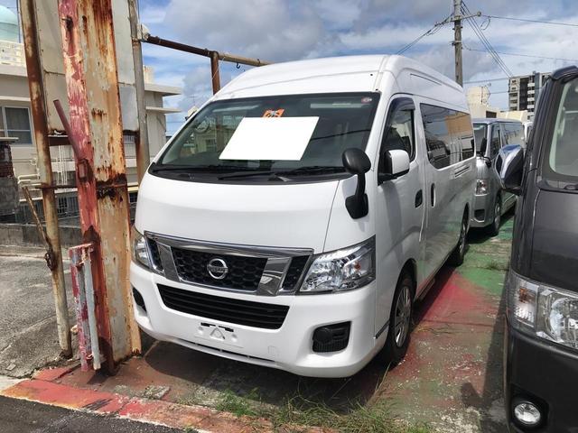 沖縄の中古車 日産 NV350キャラバンバン 車両価格 115万円 リ済込 2014(平成26)年 6.7万km ホワイト