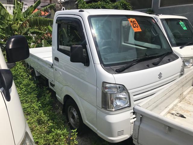 沖縄の中古車 スズキ キャリイトラック 車両価格 ASK リ済込 2014(平成26)年 16.7万km ホワイト