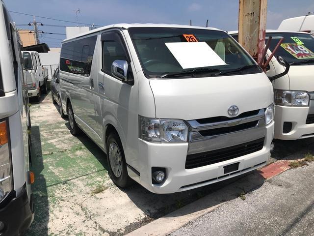 沖縄の中古車 トヨタ ハイエースバン 車両価格 ASK リ済込 2014(平成26)年 16.7万km パール