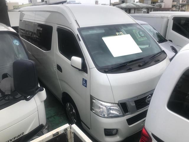 沖縄の中古車 日産 NV350キャラバンバン 車両価格 185万円 リ済込 2014(平成26)年 6.6万km パール