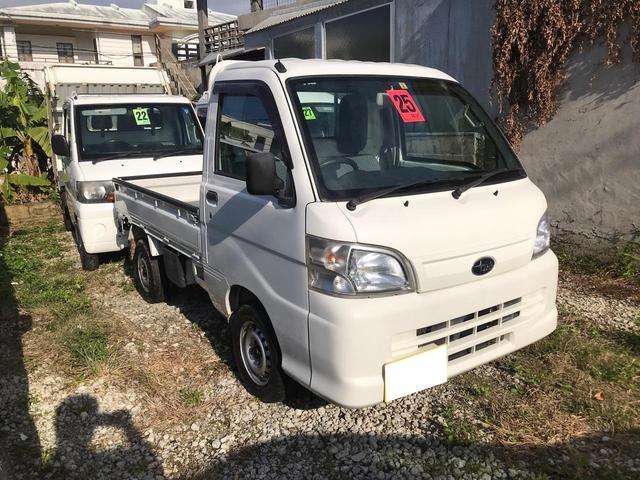 沖縄の中古車 スバル サンバートラック 車両価格 49万円 リ済込 2013(平成25)年 9.4万km ホワイト