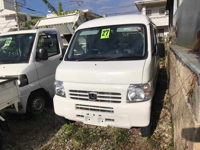 沖縄県の中古車ならアクティバン SDX ハイルーフ 両側スライドドア ナビ 禁煙車 記録簿付 キーレス