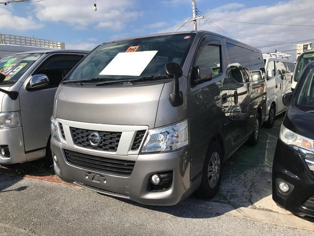 沖縄県の中古車ならNV350キャラバンバン  ロングDX 純正ナビ TV バックカメラ 9人乗り キーレス