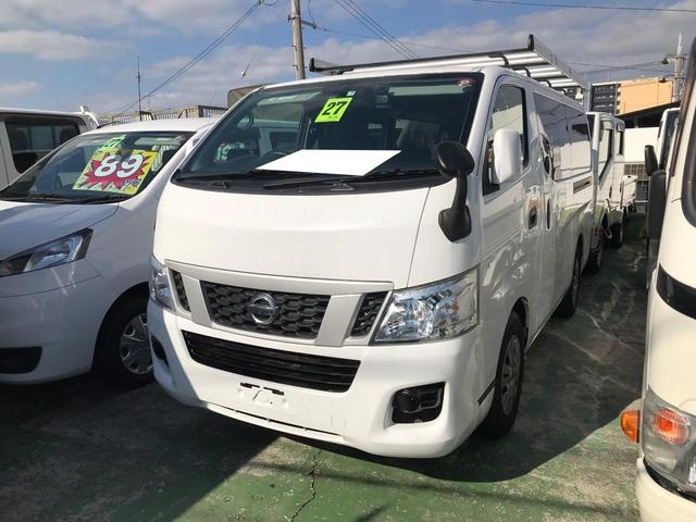 沖縄の中古車 日産 NV350キャラバンバン 車両価格 119万円 リ済込 2015(平成27)年 9.8万km ホワイト