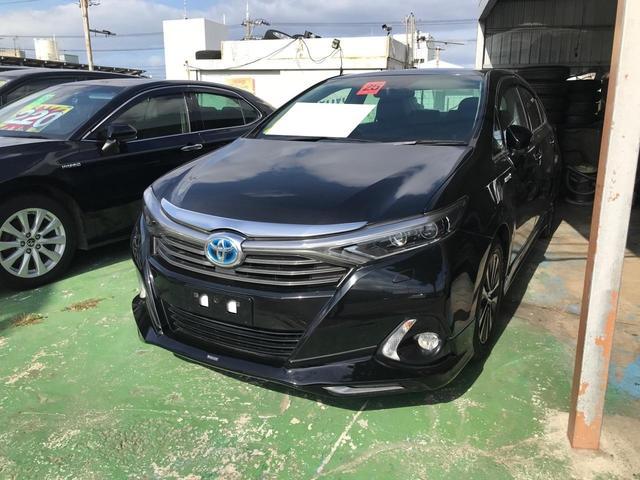 沖縄の中古車 トヨタ SAI 車両価格 122万円 リ済込 2013(平成25)年 12.9万km ブラック