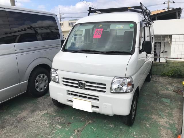 沖縄の中古車 ホンダ アクティバン 車両価格 49万円 リ済込 2016(平成28)年 11.6万km ホワイト