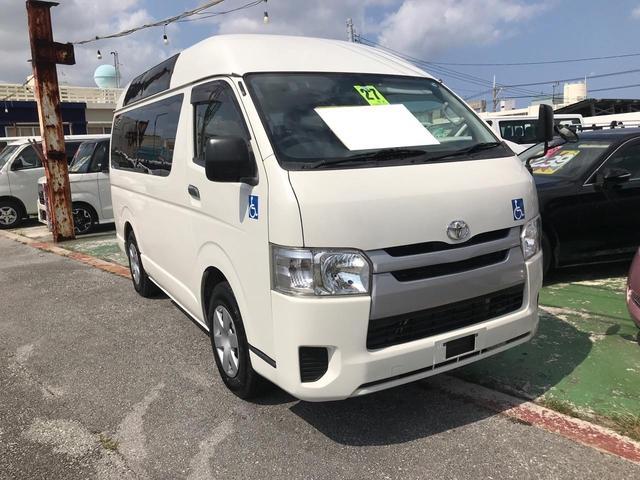 沖縄の中古車 トヨタ ハイエースバン 車両価格 192万円 リ済込 2015(平成27)年 4.8万km ホワイト