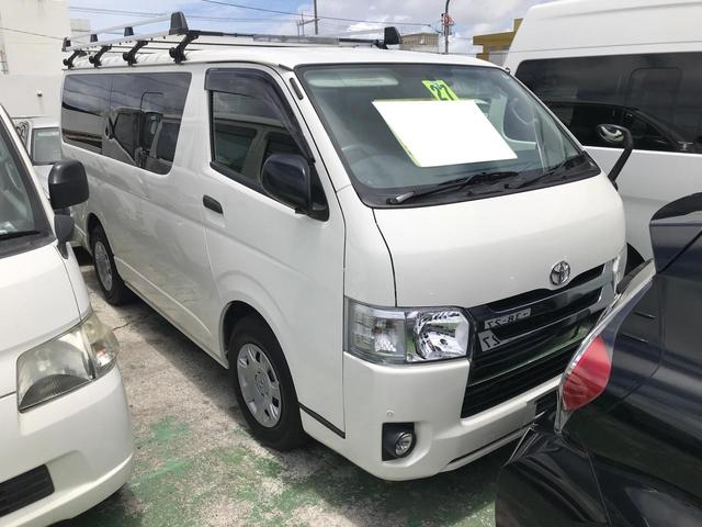 沖縄の中古車 トヨタ ハイエースバン 車両価格 169万円 リ済込 2015(平成27)年 13.9万km ホワイト