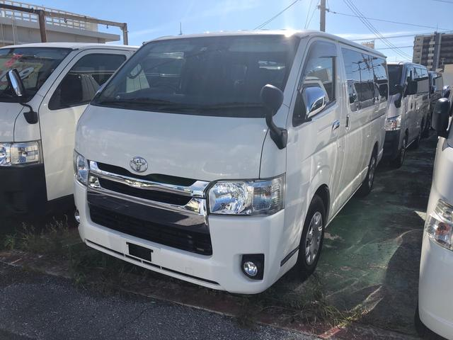 沖縄の中古車 トヨタ ハイエースバン 車両価格 ASK リ済込 2015(平成27)年 18.6万km ホワイト