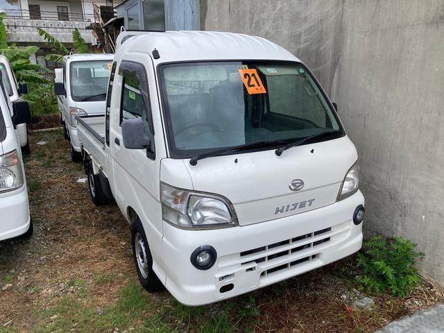 沖縄の中古車 ダイハツ ハイゼットトラック 車両価格 ASK リ済込 2009(平成21)年 18.3万km ホワイト