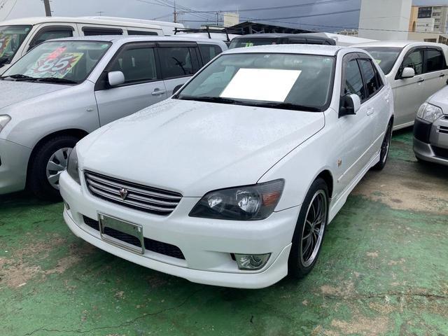 沖縄県の中古車ならアルテッツァ RS200 Zエディション MT6速 キーレス 社外アルミ エアロ ABS