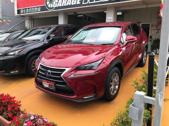 沖縄の中古車 レクサス NX 車両価格 375万円 リ済別 2016(平成28)年 1.7万km レッド