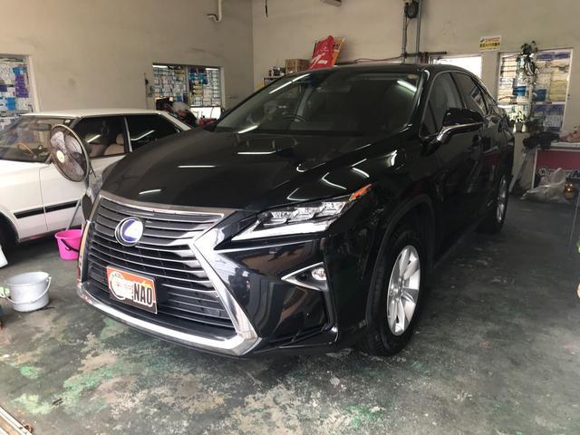 沖縄の中古車 レクサス RX 車両価格 400万円 リ済込 2016(平成28)年 5.5万km ブラック