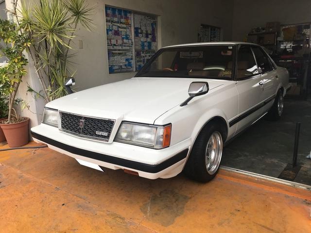 沖縄の中古車 トヨタ マークII 車両価格 ASK リ済込 1982(昭和57)年 7.8万km ホワイト
