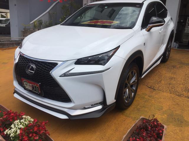 沖縄の中古車 レクサス NX 車両価格 385万円 リ済込 2017(平成29)年 3.0万km パールホワイト